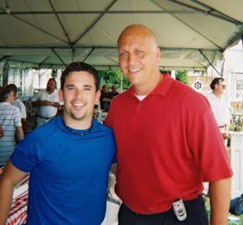 Magic Dave and Cal Ripken